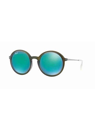 Ray-Ban Ray-Ban 4222 61693R 50 Ekartman Kadın Güneş Gözlüğü Yeşil